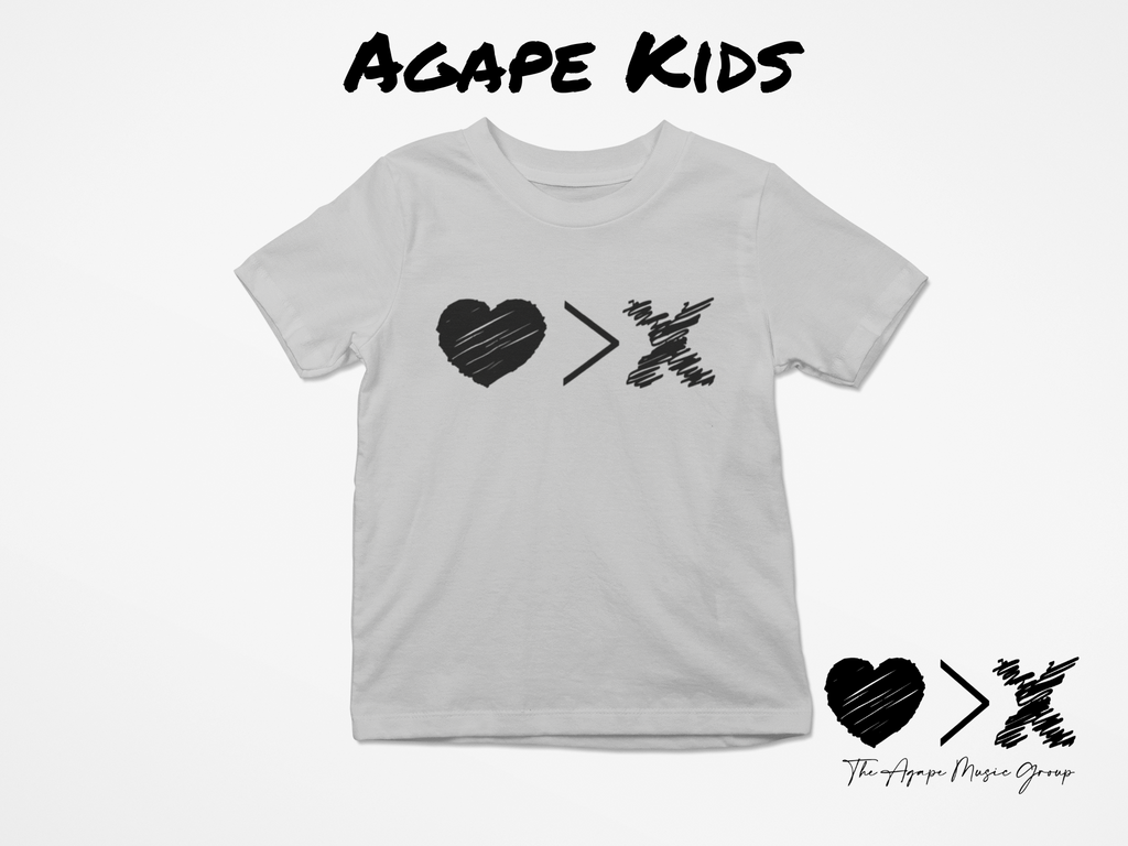 Grey/Black Logo T-shirt (Toddler and Youth)
