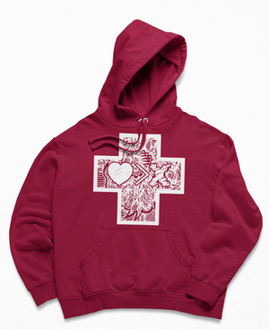 CROSS Collection by JON+DOE hoodie (multiple color options)