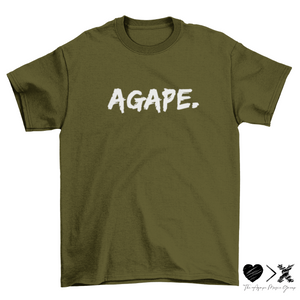 AGAPE. Short sleeve t-shirt (multiple color options)