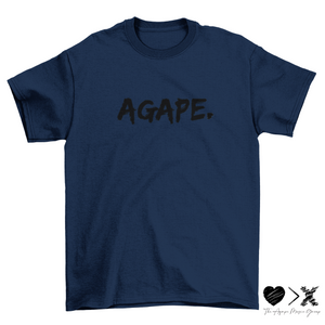 AGAPE. Short sleeve t-shirt (multiple colors options)