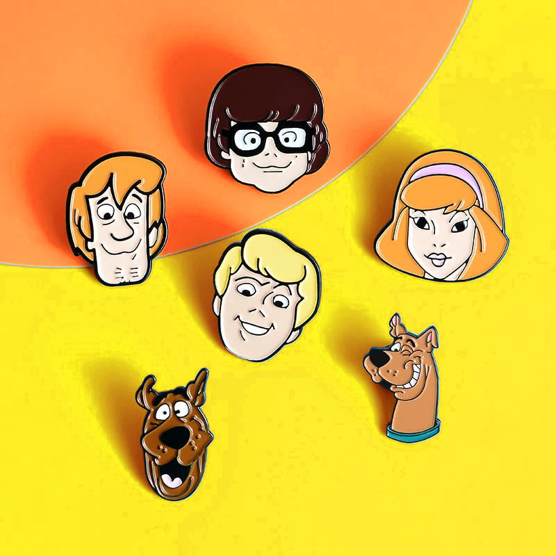 Pins Cartoon Scooby Doo ! Pins Dessin Animé Vintage Scoubidou