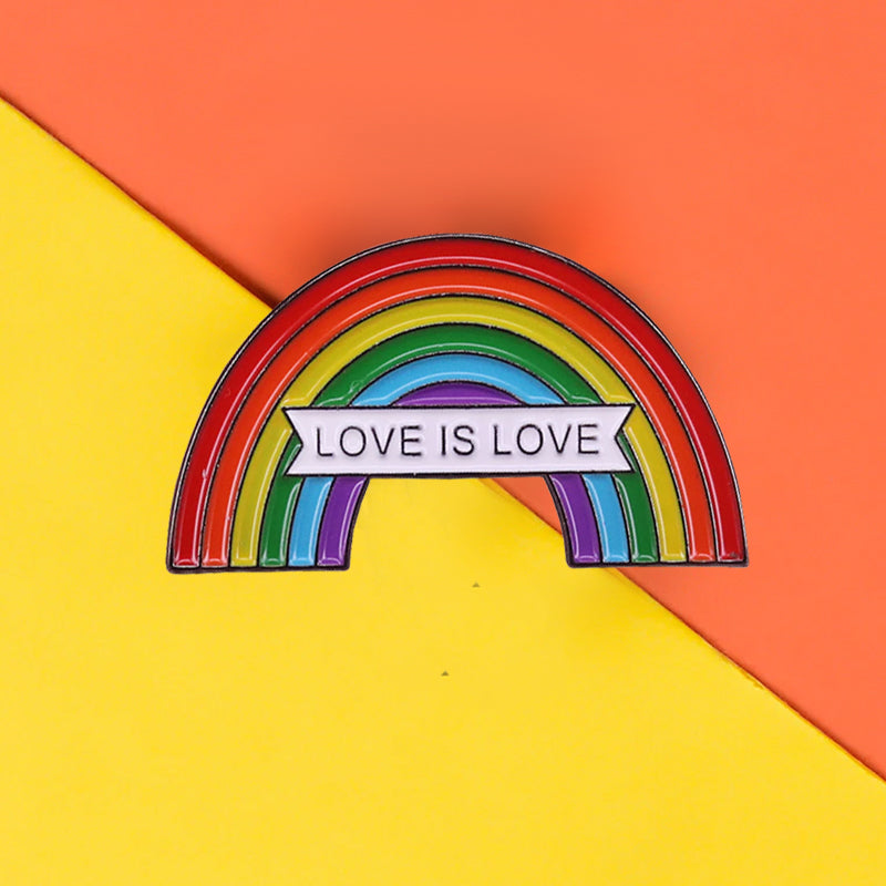 Pins Arc en Ciel - Pins LGBT Gay Pride - Love is Love