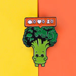 Pins original Vegan - Pins Brocoli trop mignon avec notifications facebook