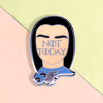 "Pin's Game Of Thrones Arya Stark ""Not Today"" -  Pins Original Pas Cher"
