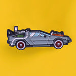 Pin's Retour vers le Futur le Film - Pins Dolorean