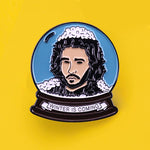 "Pin's Game of Thrones - Pin's Jon Snow ""Winter is coming"""