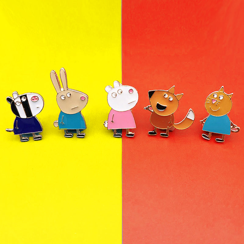 Pins Peppa Pig les personnages - pins animaux mignons