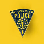 Pin's Stranger Things - Badge Police de Hawkins De Jim Hopper