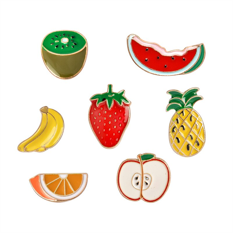 Pins fruits Coloré Kawaii Pins pas cher et original