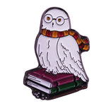 Pins Harry Potter Hedwige le Hibou Harfang des Neiges Fans Harry Potter