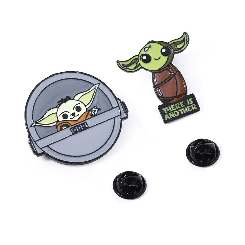 "Pins Star Wars trop mignon - Pins Yoda bébé ""There Is Another"""