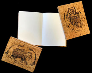 Etched Cork Sketchbook