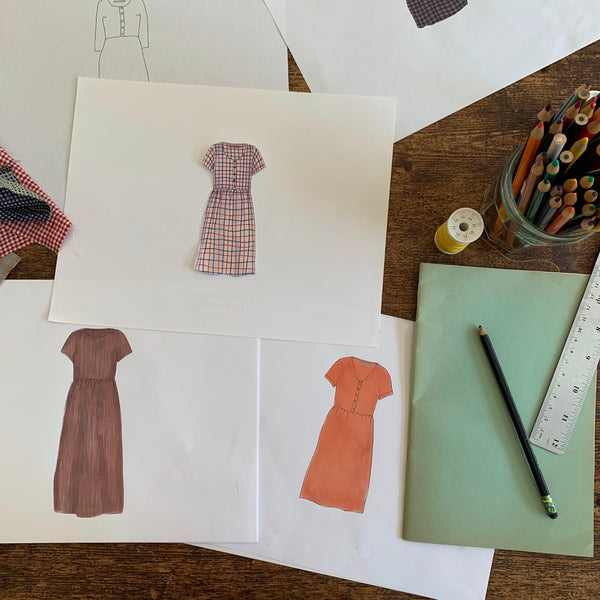 The process behind Pyne & Smith linen dresses