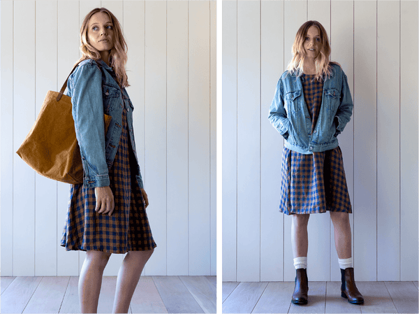 Styling The Linen Swingy Dress with Kelsey from Pyne & Smith
