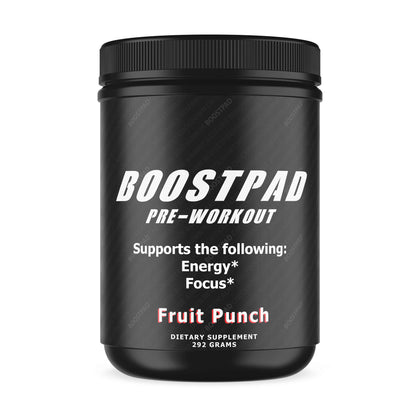 Boostpad - Pre-Workout - Fruit Punch - Loadout eFitness