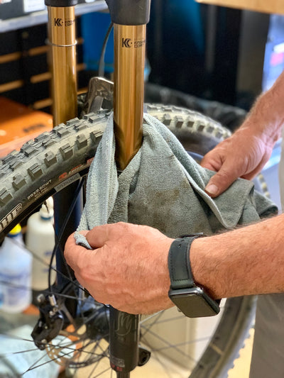 ...you should get in the habit of doing a pre-ride bike check every time you ride?