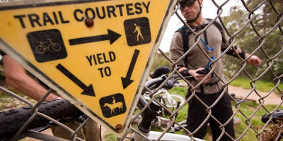 ...that mountain bikers should yield to all other trail users on multi-use trails?