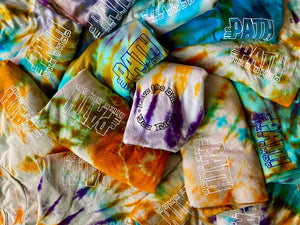 The Path Bike Shop Tie Dyed T-shirts