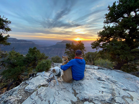 sunset viewpoint grand canyon