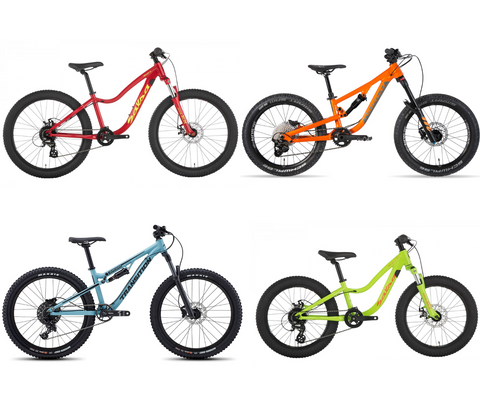 Kids bikes in stock at The Path Bike Shop
