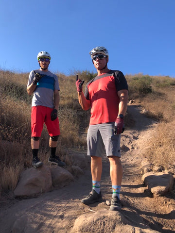 Nate and Jeff on Hawk trail