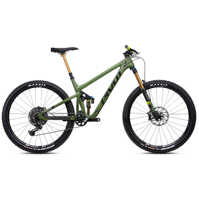 Pivot Switchblade 29 PRO X01 treeline green full view