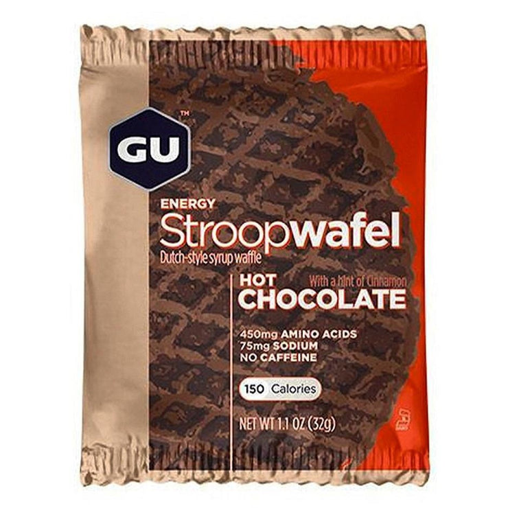 Gu Stroopwafel hot chocolate full view
