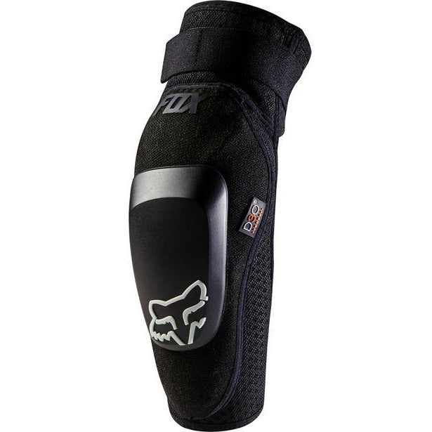 FOX Racing Launch Pro D30 Elbow, Black, Front View