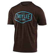 Troy Lee Designs Flowline Short Sleeve Jersey brown