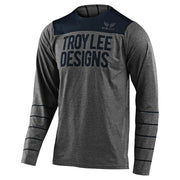 Troy Lee Designs Pinstripe LS Skyline Jersey gray and navy