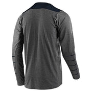 Troy Lee Designs Pinstripe LS Skyline Jersey gray navy back view