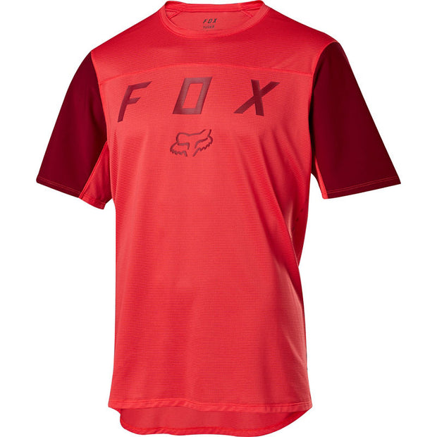 Fox Racing FlexAir Moth Mountain Bike Jersey Bright Red