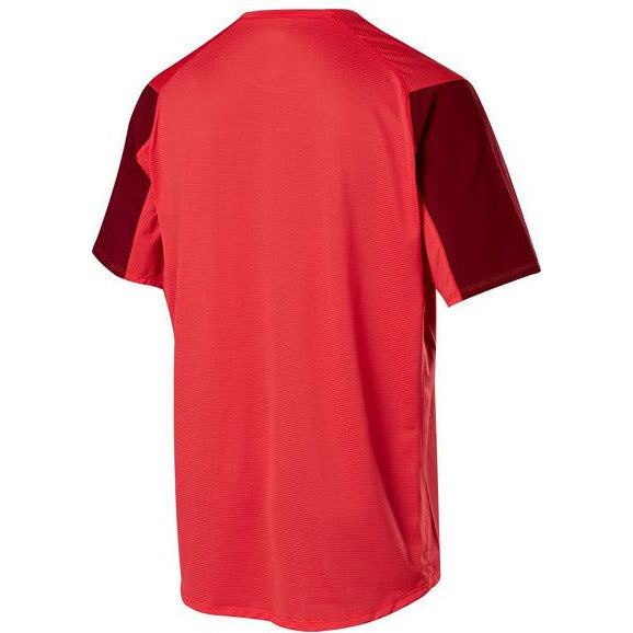 Fox Racing FlexAir Moth Mountain Bike Jersey Bright Red back