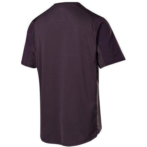 Fox Racing FlexAir Moth Mountain Bike Jersey Dark Purple Back