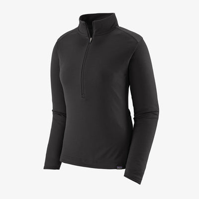 Patagonia Women's Capilene Midweight Bike Jersey black full view