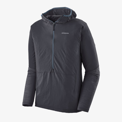 Patagonia Men's Airshed Pro Pullover Ink Black front view