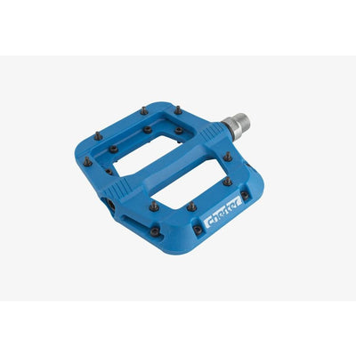 RaceFace Chester Composite Pedals, Blue, Full View