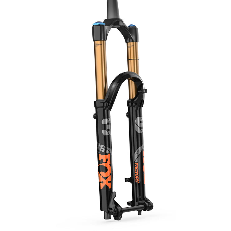 2021 Fox Float 36 160mm 29 Factory Series Fork Kashima orange logos  side
