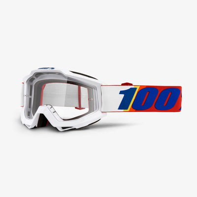 100% Goggles Accuri Minima Clear Lens full view