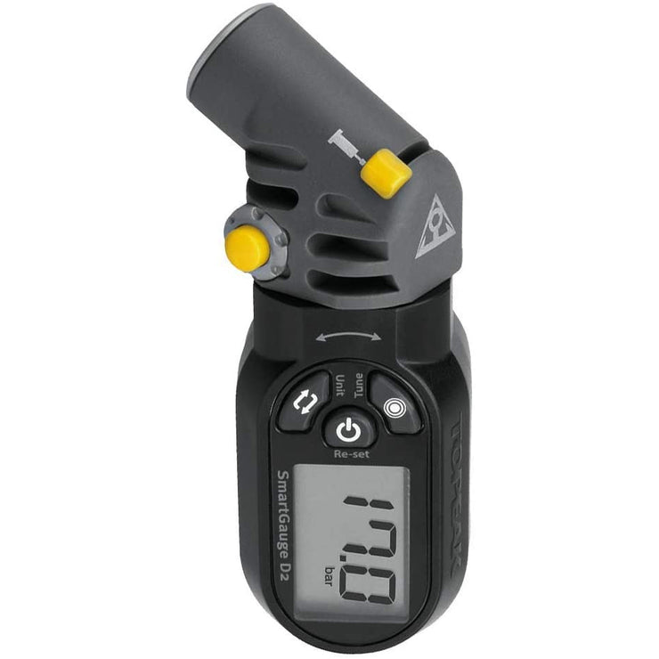 Topeak Smart tire pressure Gauge full view