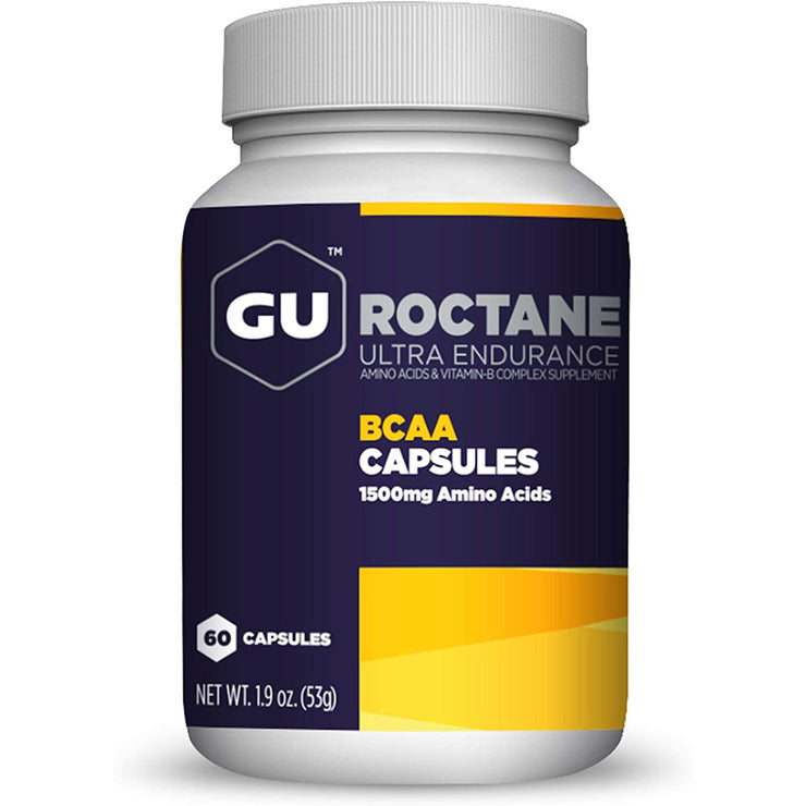 GU BCAA Capsules - 60 Count front view