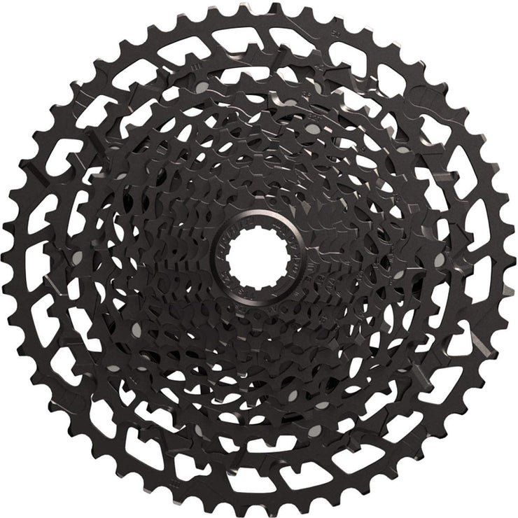 Sram NX Eagle 170 Groupset cassette closeup