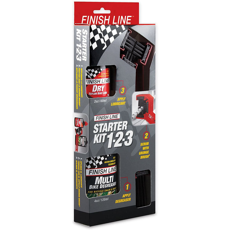 Finish Line Starter Kit 1-2-3 in box full view
