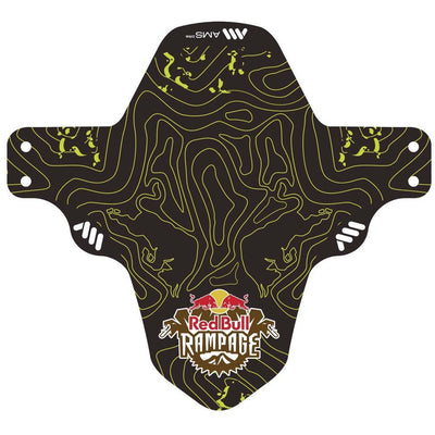 AMS Mud Guard Red Bull yellow full view