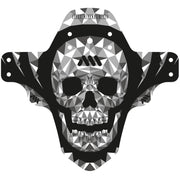 AMS Mud Guard skull full view