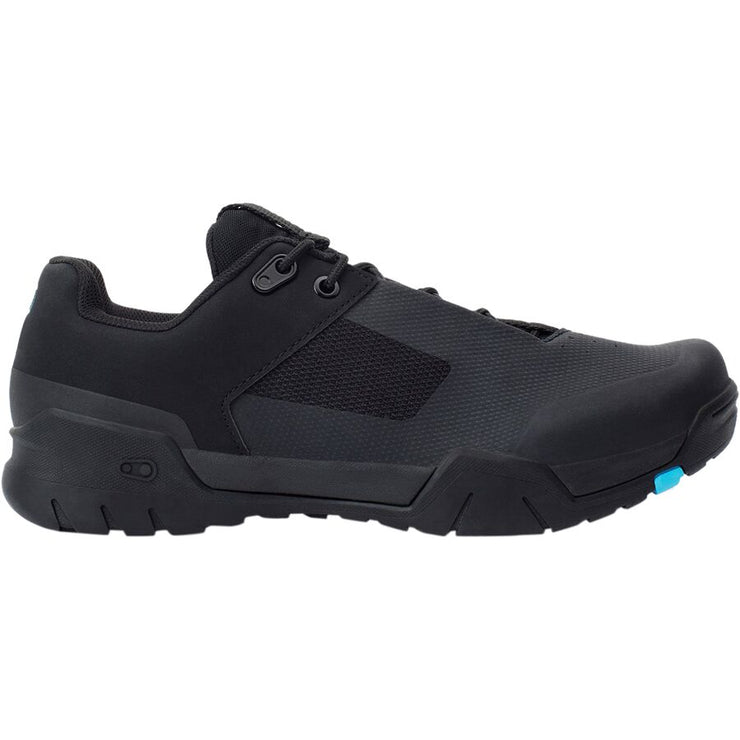 Crank Brothers Mallet E Lace Men's Shoes black/blue side view