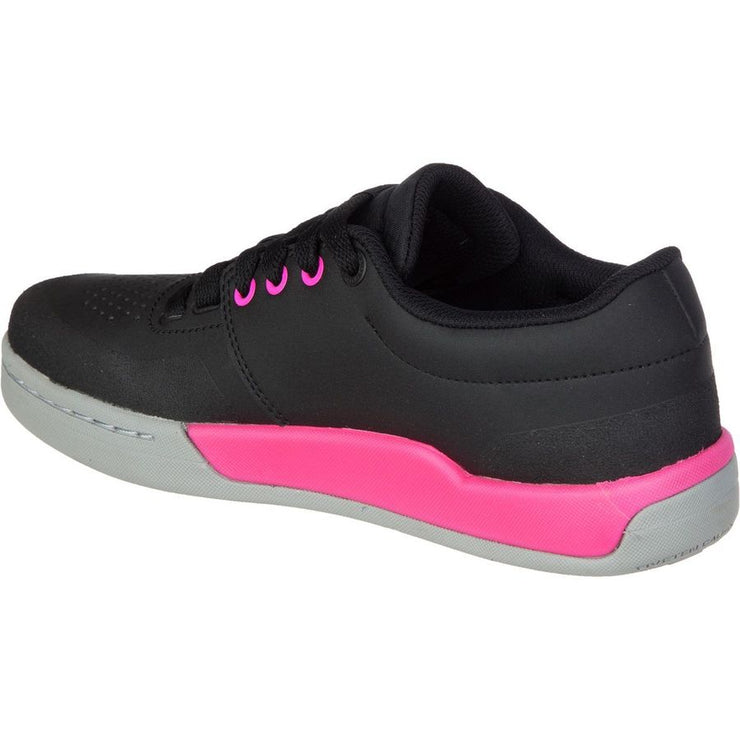 Five Ten Women's Freerider Pro Mountain Bike Shoe black pink inside view