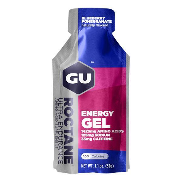 GU Roctane Energy Gels Blueberry Pomegranate full view