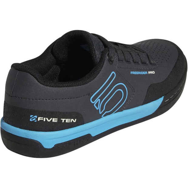 Five Ten Women's Freerider Pro Mountain Bike Shoe black cyan