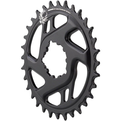 SRAM X-Sync 2 Eagle Cold Forged Direct Mount Chainring 32T Boost 3mm Offset, Full View